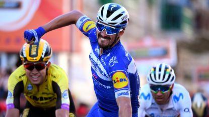 Deceuninck-Quick.Step boven in La Primavera: Alaphilippe wint Milaan-Sanremo, Naesen tweede