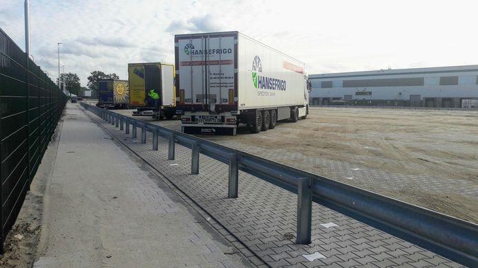 Overal in het land worden truckparkings aangelegd.