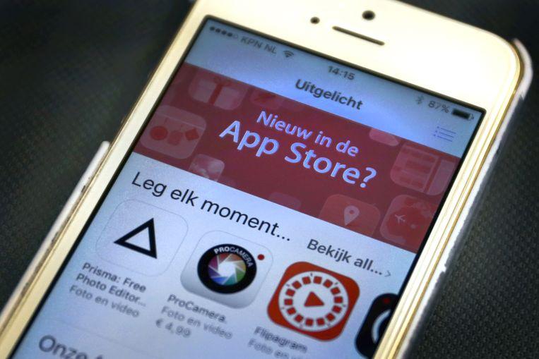 De Europese Commissie onderzoekt techreus Apple. Beeld ANP