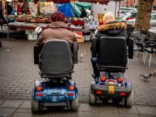 50Plus wil veiligere wegen voor scootmobiel in Apeldoorn