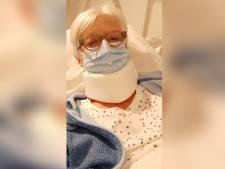 Elisabeth (75) vraagt man afstand te houden in winkel. Vijf minuten later ligt ze op de grond met een gebroken bekken