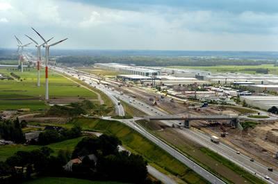 Mega: Belgen bouwen superwindmolens net over grens