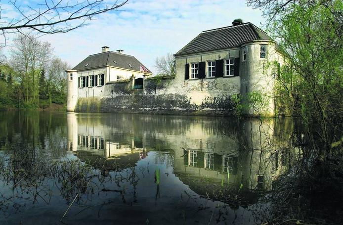 Het Kasteel van Oijen: eigenlijk de twee bijgebouwen van het oorspronkelijke kasteel uit 1594.