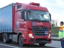 File op N36 en A35 vanuit Almelo richting Vriezenveen door ongeval