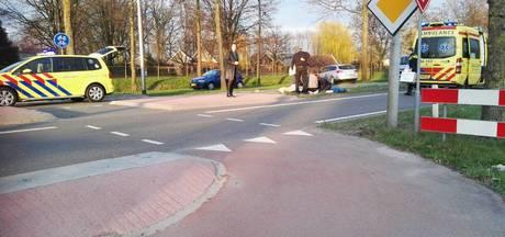 Fietser gewond bij aanrijding met personenauto in Winterswijk
