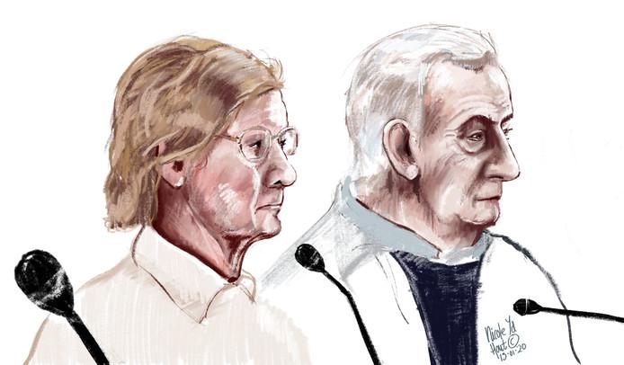 Corry (77) en Herman (75) hadden in de ogen van justitie moeten weten dat criminelen op hun terrein drugs produceerden. Ze hoorden tien maanden cel, waarvan vijf voorwaardelijk, tegen zich eisen.