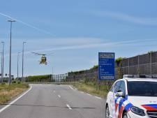 Ongeluk met twee motorrijders in Tilburg, traumahelikopter aanwezig