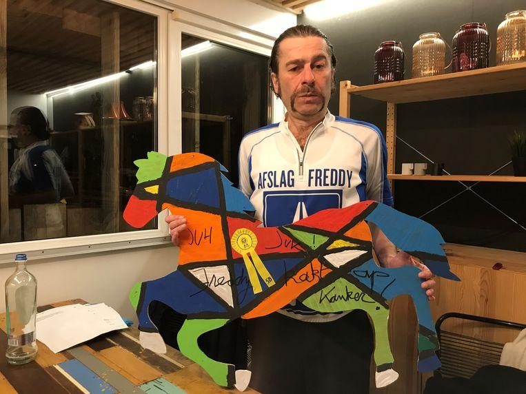 Freddy De Vadder toont z'n hart voor Kom op tegen Kanker