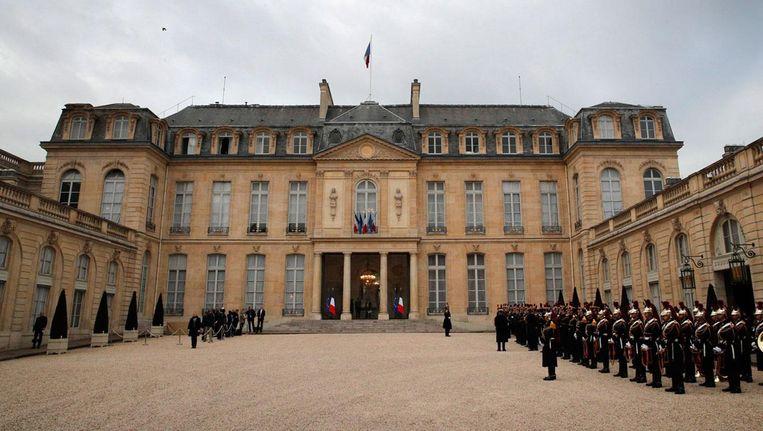 Het Élysée in Parijs. Beeld ap