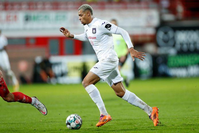 Quatre buts depuis le début de la saison pour l'attaquant prêté par City et ils ont été inscrits lors des trois dernières victoires d'Anderlecht.