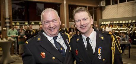 Koninklijke hulde voor twee Denekampse brandweerlieden