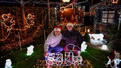 92.000 lichtjes sieren kersthuisje in Overmere