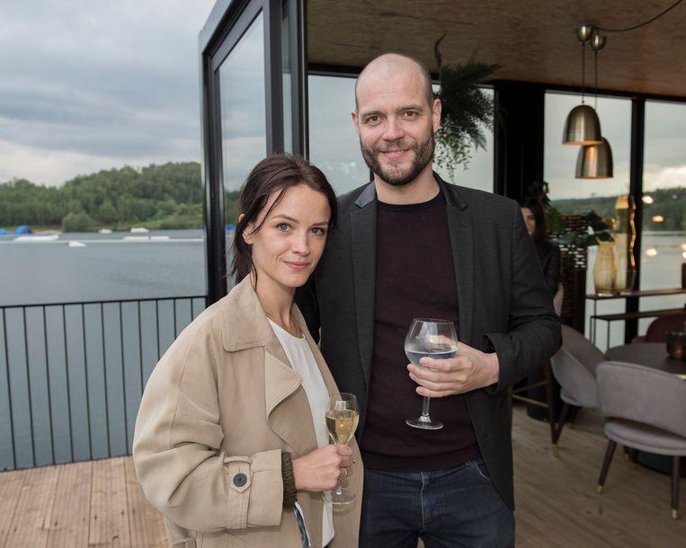 Lynn Van Royen en haar man Gilles gaven hun ogen serieus de kost op de culinaire vloot.