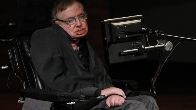 'Stem' Stephen Hawking (70) dreigt verloren te gaan