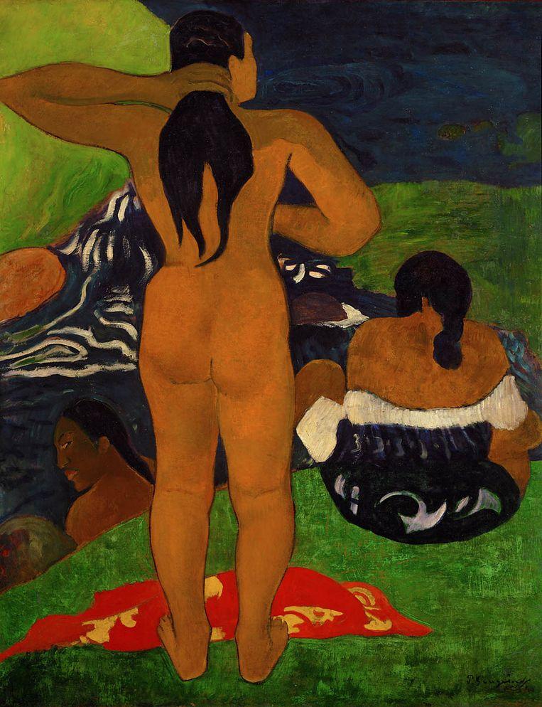Paul Gauguin: Tahitiennes sur la plage, 1892.Metropolitan Museum of Art, New York. Beeld Hollandse Hoogte