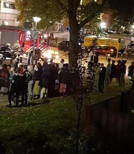 16 gezinnen brand Slotervaart mogen naar huis