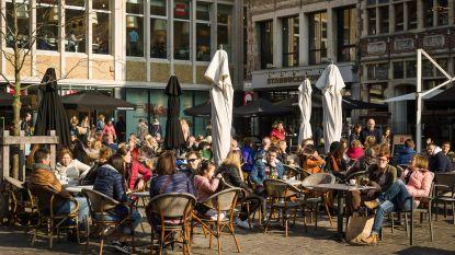 Gent wordt één groot terras: tot dubbele terrassen in centrum, tot vierdubbele buiten de stadsring