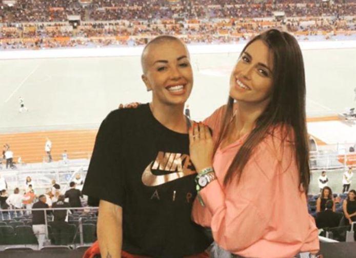 Claudia Lai (links) vecht sinds april 2018 tegen kanker.