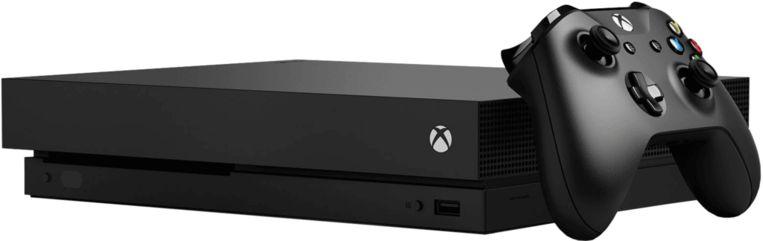 De Xbox One X: krachtig én compact.
