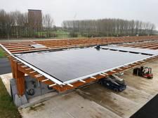 Zonnepanelen op zoutloods geven 100 Houtense huizen stroom