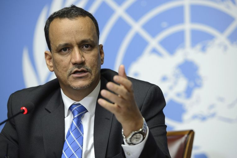 VN-gezant Ismail Ould Cheikh Ahmed