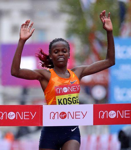 Brigid Kosgei remporte le marathon de Londres pour la deuxième année consécutive