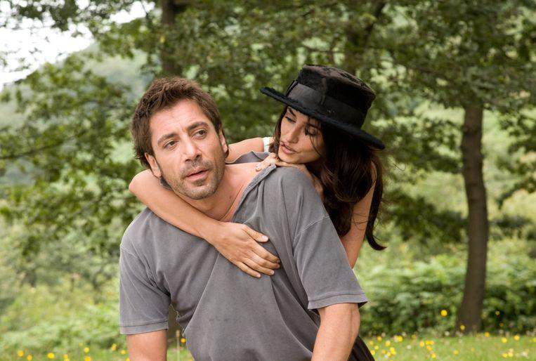 Javier Bardem en Penelope Cruz in Todo lo saben van Asghar Farhadi  Beeld RV