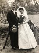 De trouwfoto uit 1960.