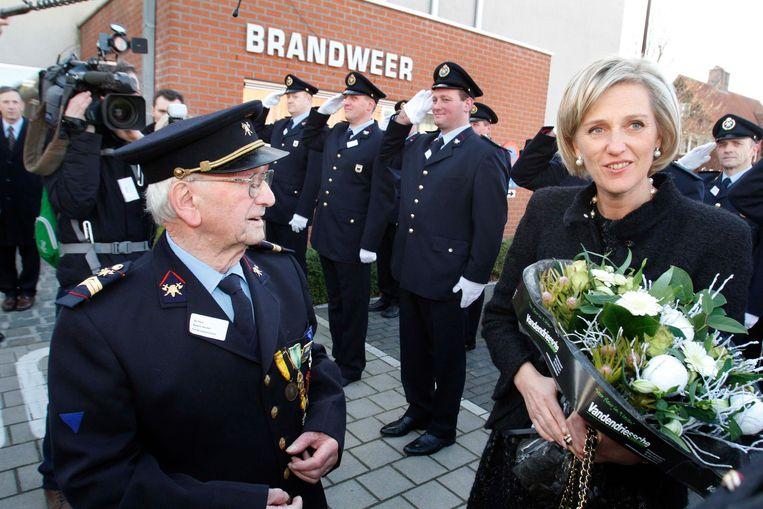 In 2011 ontmoette de toen 100-jarige Hector Ketels prinses Astrid, die Lichtervelde bezocht. Hij overhandigde haar bloemen.
