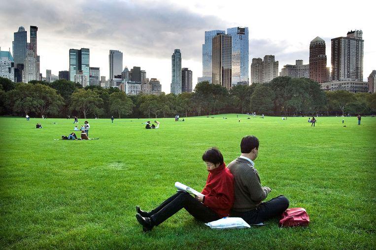 Central Park, New York. Beeld Guus Dubbelman/ de Volkskrant