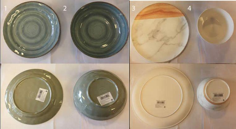 Euro Shop roept plastic borden en kommen terug.