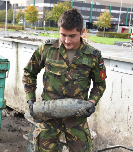 Granaat uit Eerste Wereldoorlog gevonden in Honselersdijk