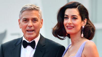 George Clooney en Amal namen vluchteling in huis