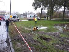 Water stroomt weer in Lelystad na leidingbreuk met grote gevolgen