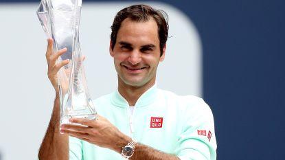 Federer heeft geen kind aan Isner in de finale van Miami - Elise Mertens opnieuw aan het feest in dubbelspel