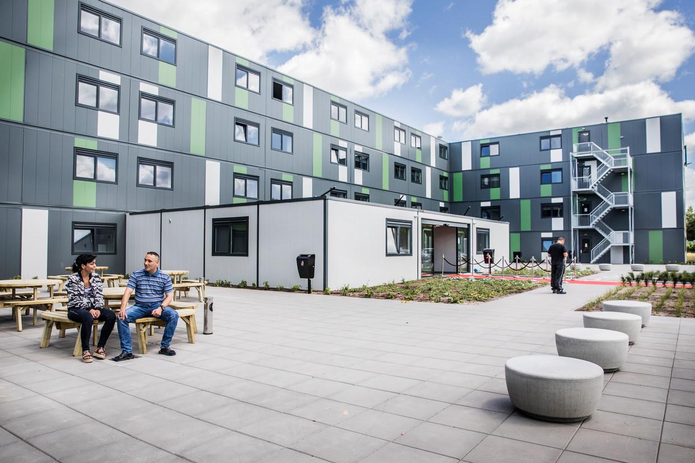 De nieuwe flat voor arbeidsmigranten in Waalwijk