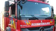 Brandje in bos langs Benedenstraat