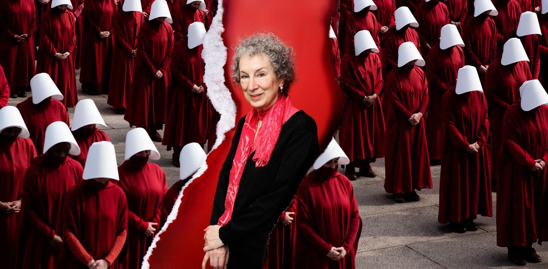 Margaret Atwood Beeld Getty / HH, bewerking Studio V