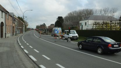 Nog twee weken hinder in Leernsesteenweg