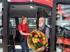 Mijlpaal buurtbus 266: 250.000ste reiziger
