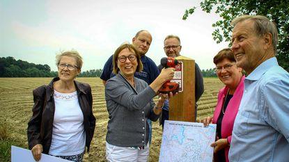 Eerste paal voor nieuw wandelnetwerk Brabantse Kouters