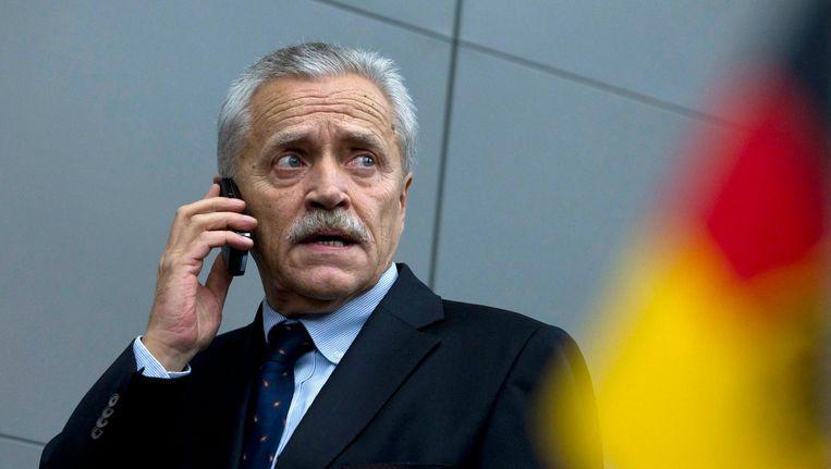 Heinz Fromm, chef van de Duitse binnenlandse veiligheidsdienst. Beeld REUTERS