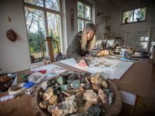 Kunstenares Elvira Wersche uit Nuenen: 'Zand is een nederig materiaal'