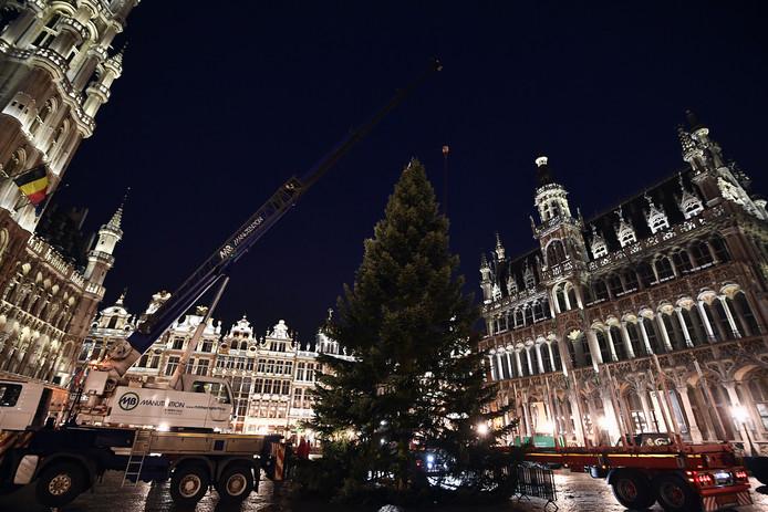 Le sapin de Noël de la Grand-Place