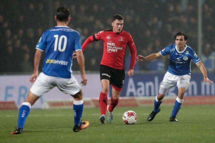 Diego Snepvangers maakte dit seizoen 4 doelpunten in 13 competitieduels.