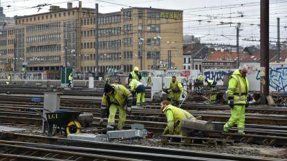 Dit is 'm: de werf met 300 arbeiders die het treinverkeer rond Brussel-Zuid fnuikt