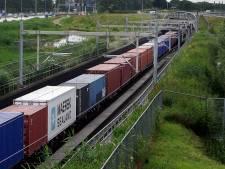 Goederentreinen gaan 's nachts langzamer rijden tussen Meteren en Boxtel