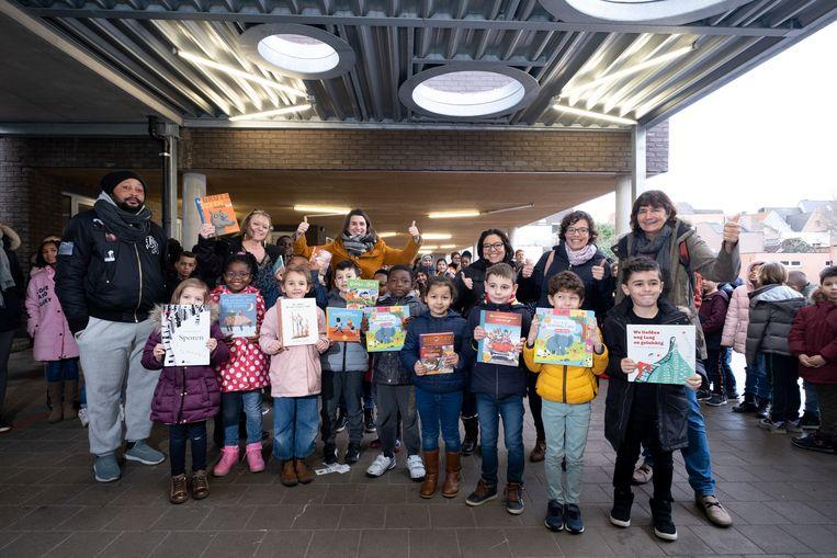 De voorleeswandeling van basisschool O.L.V. van de Ham sleept de prijs 'De Grote Voorleesdag' in de wacht