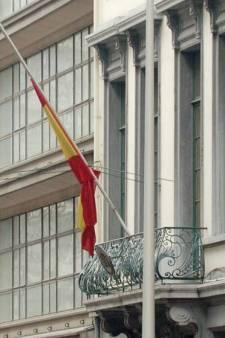 Manifestation à l'ambassade espagnole