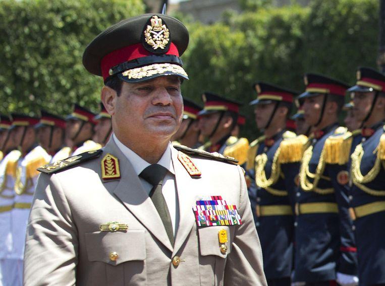 Legerleider Al-Sisi Beeld ap